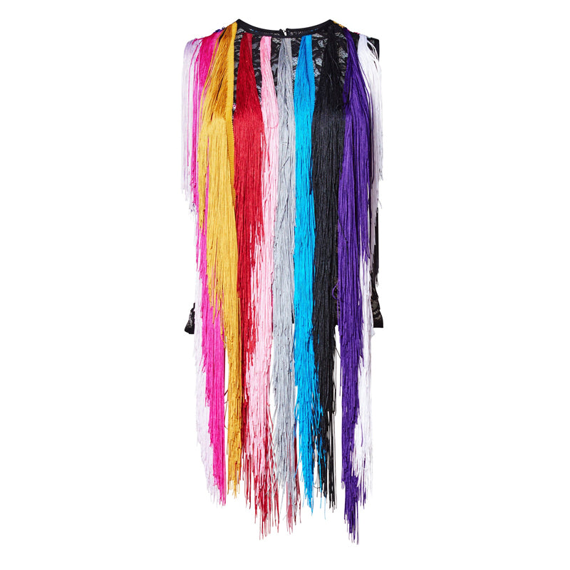 I FEEL LOVE FRINGE TOP