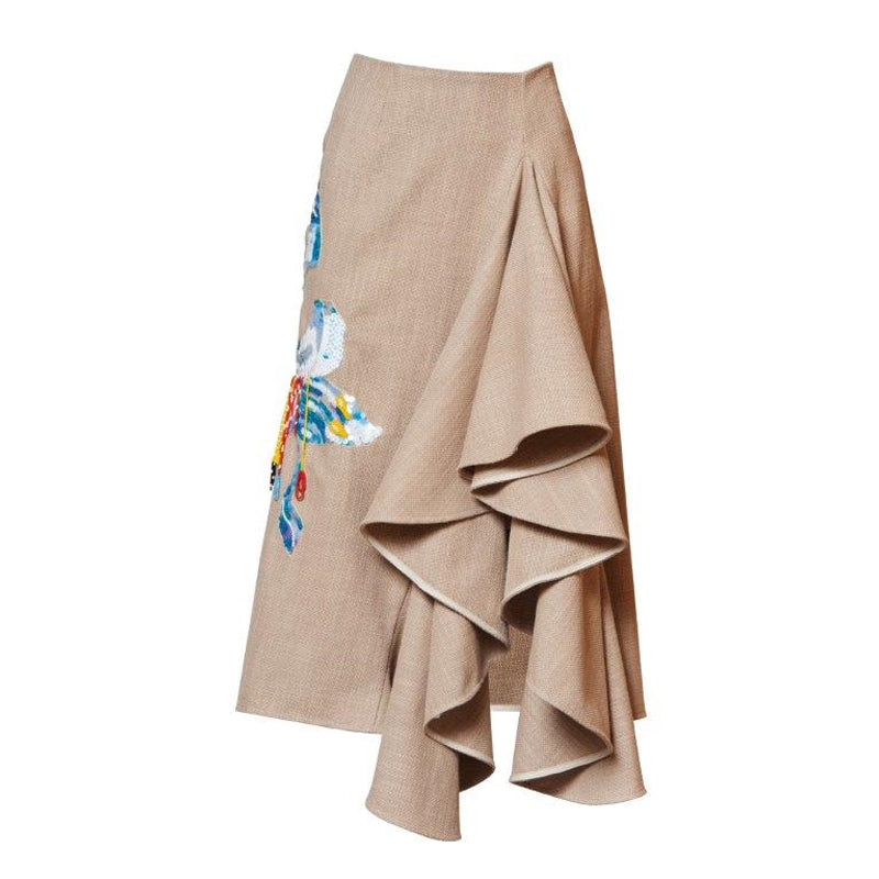 Ritual Embroidered Skirt