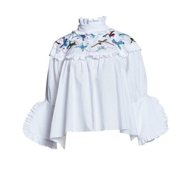 SHEPHERDESS EMB BLOUSE