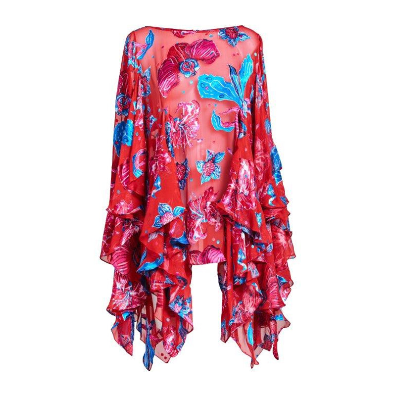 Xanadu Flower Blouse