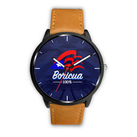 100% Boricua Watch Limited Edition (Blue Background)