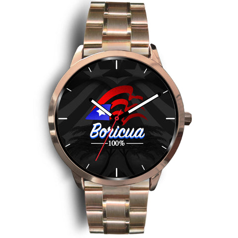 Ultra Luxury Boricua 100% Watch Rose Gold