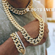 Cuban Link Chain Gold Plated