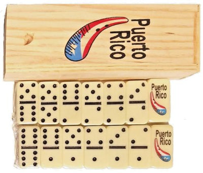 Puerto Rico Mini Dominos Guiro Doble Seis Travel Size