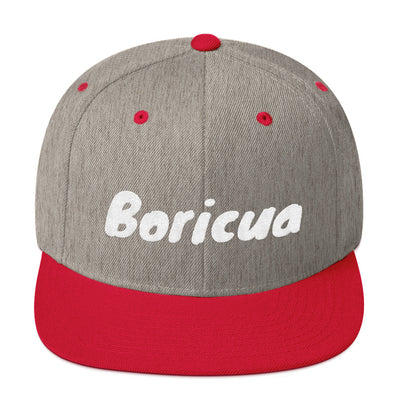 Boricua Snapback Hat Embroidered
