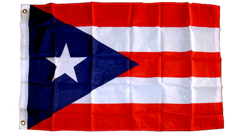 Puerto Rico 3'x5' Polyester Flag