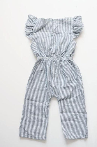River Stripe Romper