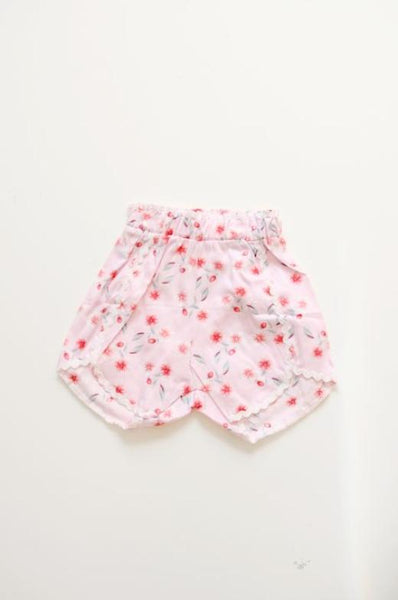 Abby Floral Shorts