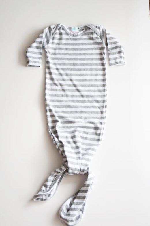 Elliot Grey Stripe Sleeper
