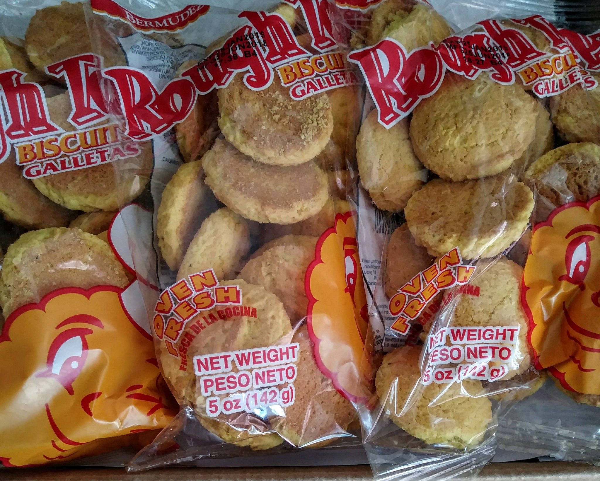 Rough Top Biscuits (3 Packs)