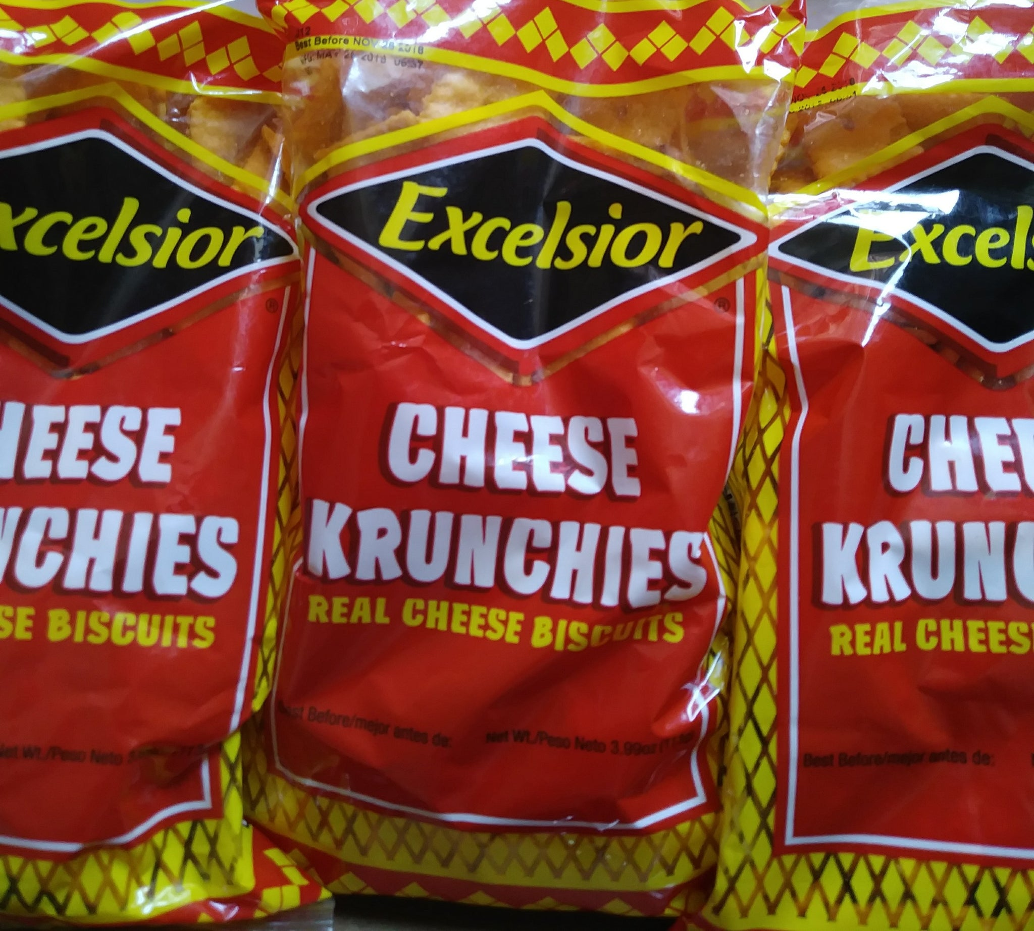 Cheese Krunchies ( 3 Packs)