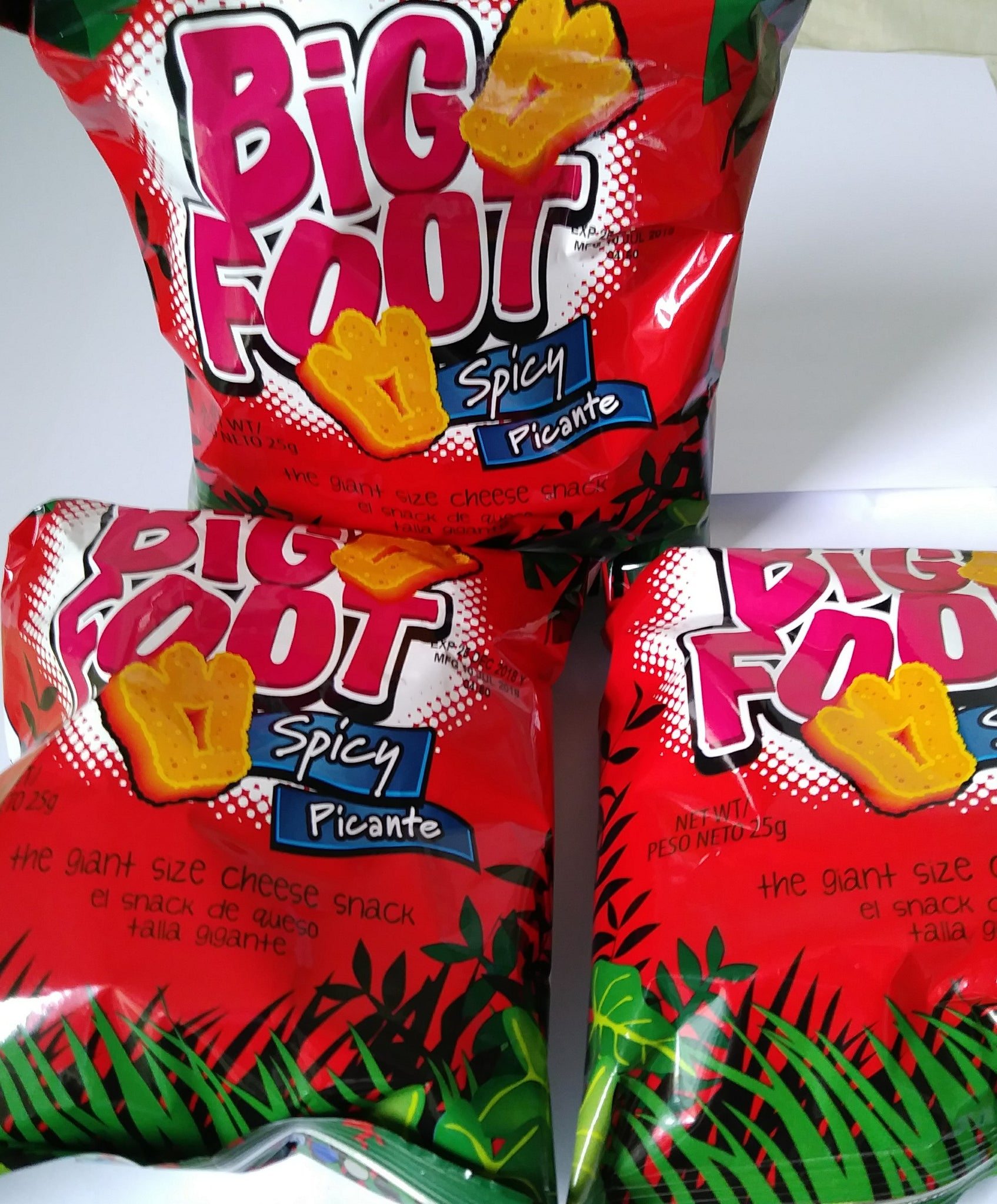 Spicy Big Foot (3 Packs)