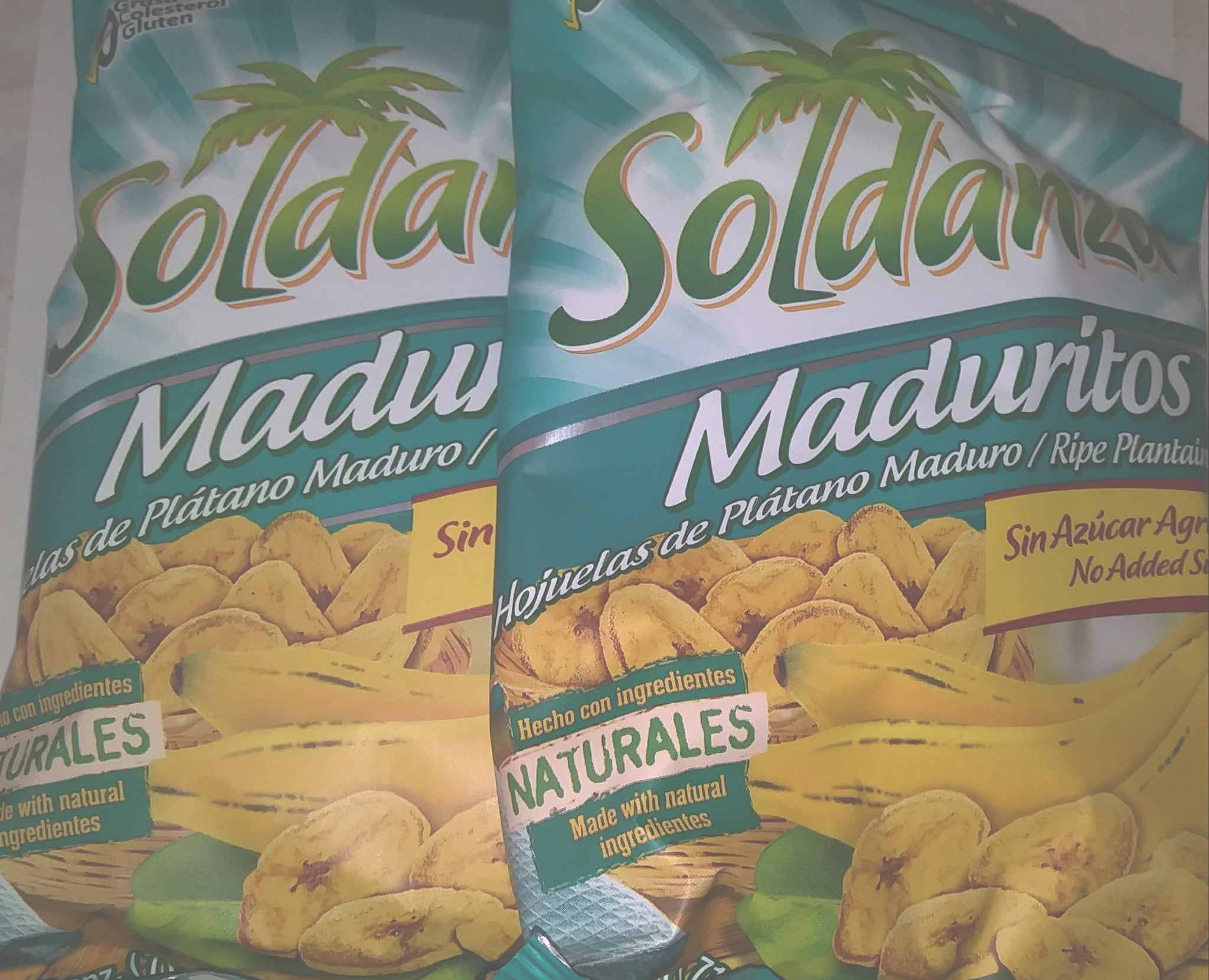 soldanza ripe plantain chips- 3 pack