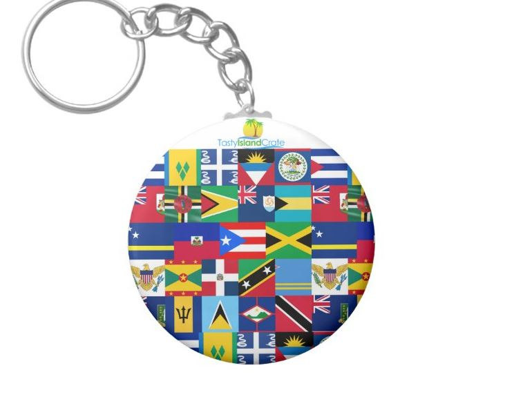 keychain-Caribbean islands