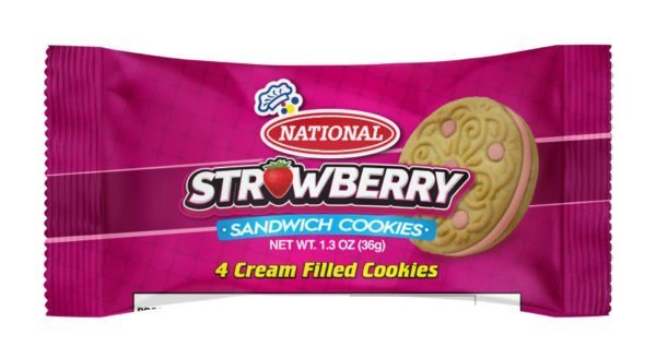 National Strawberry Sandwich Cookies (2)