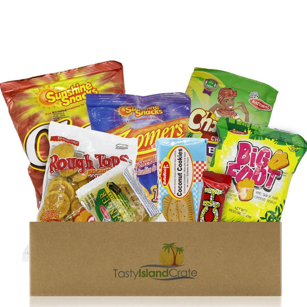 Mini Island Crate- 5+ FULL SIZED Caribbean snacks