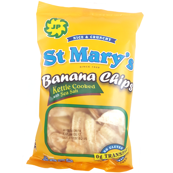 st.marys banana chips snack
