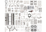 Porsche Carrera Racing Engine - 1:3 Scale Model Kit - 4 Cam - flat fanatics