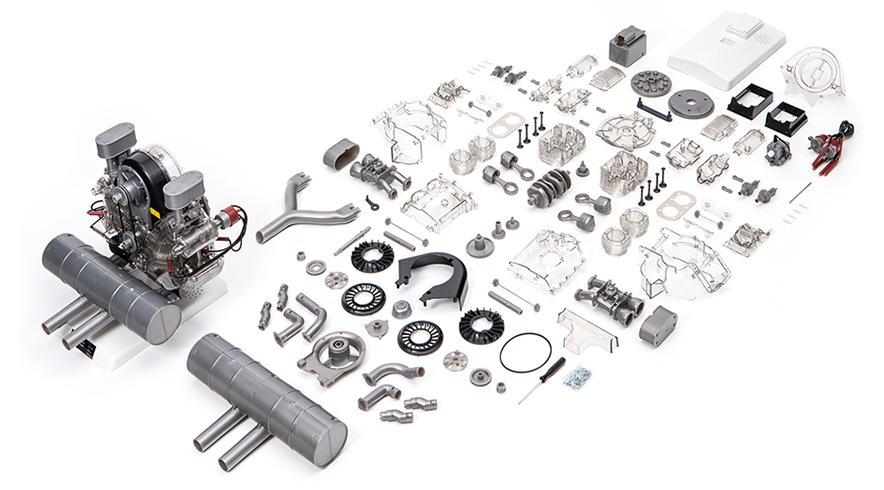 BUILD YOUR OWN CARRERA 4 CAM