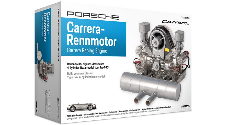PORSCHE CARRERA 4 CAM RACING ENGINE - 1:3 SCALE MODEL KIT