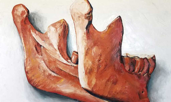 MANDIBLE PAINTING: GIVE STRESS A REST