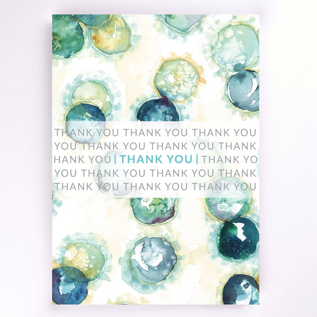 Coronavirus Histology Stationery Thank You Card