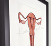 Uterus Watercolor - Original
