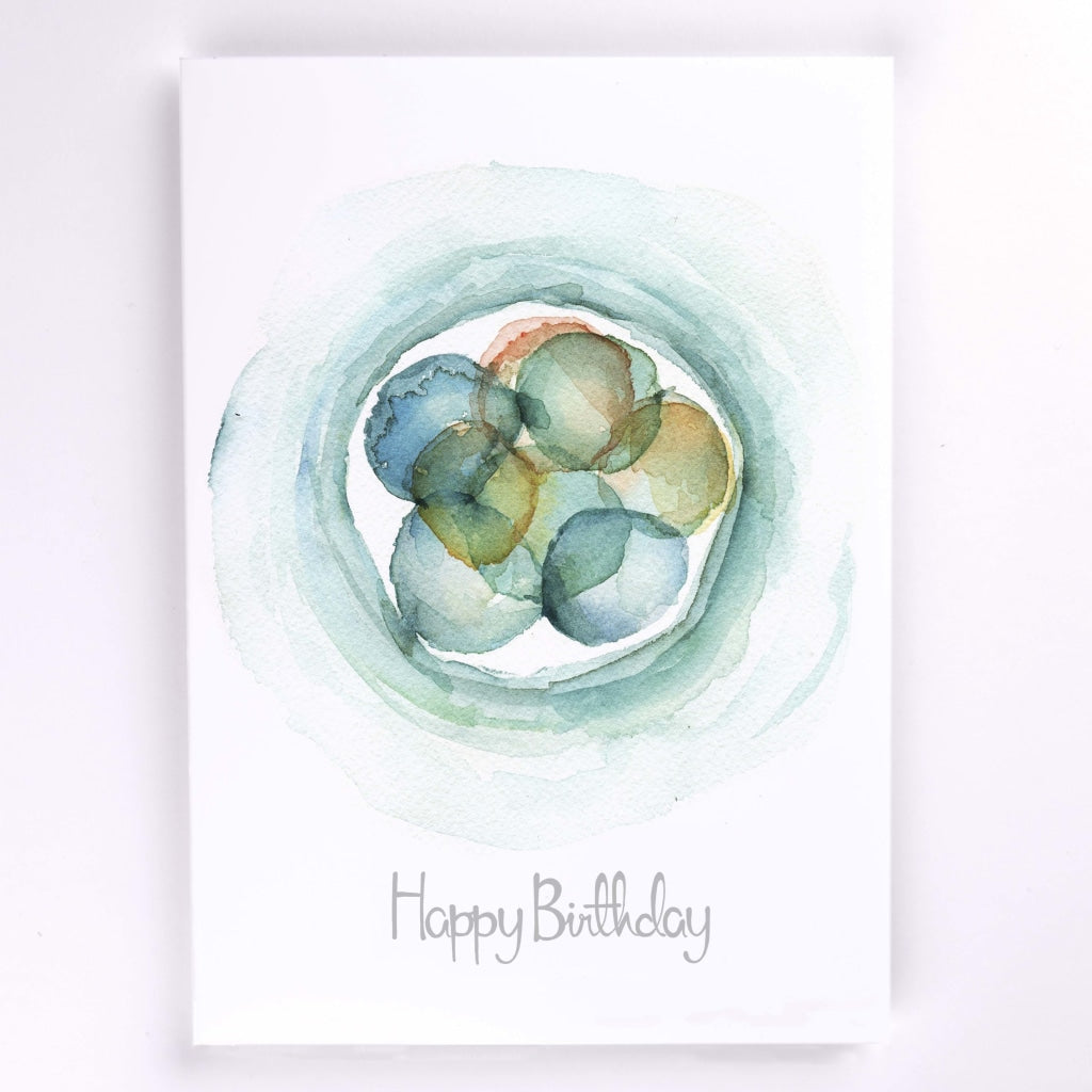 Embryo Stationary Female Reproductive Greeting Cards