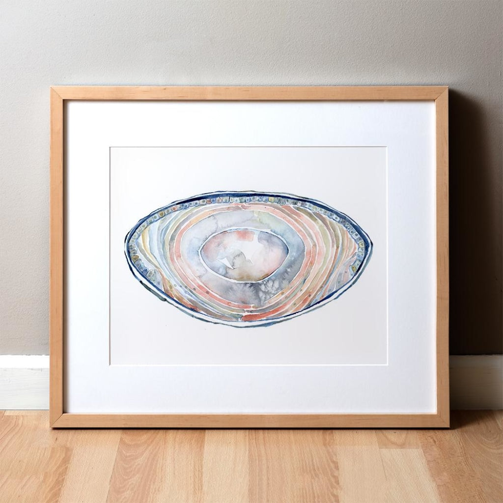 Lens Watercolor Print