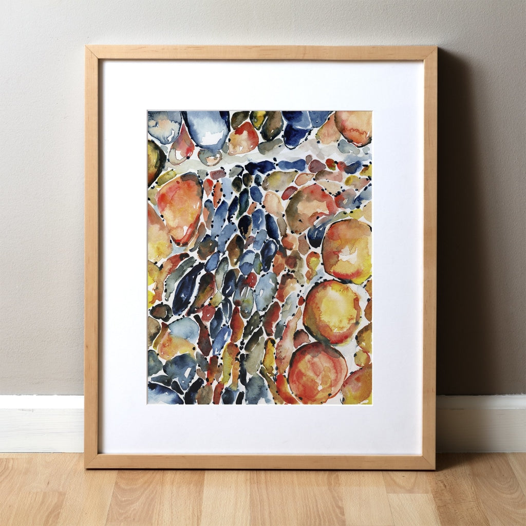 Spinal Muscular Atrophy (SMA) Watercolor Print