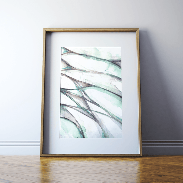Abstract Lumbar Plexus Print