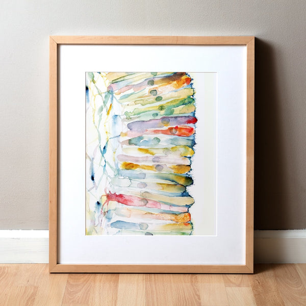 Microvilli Watercolor Print
