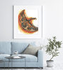 Placenta Watercolor Print