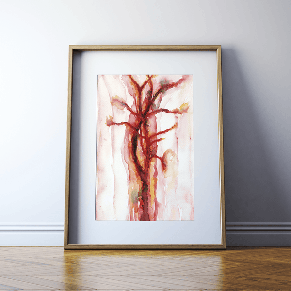 Abstract Carotid Print