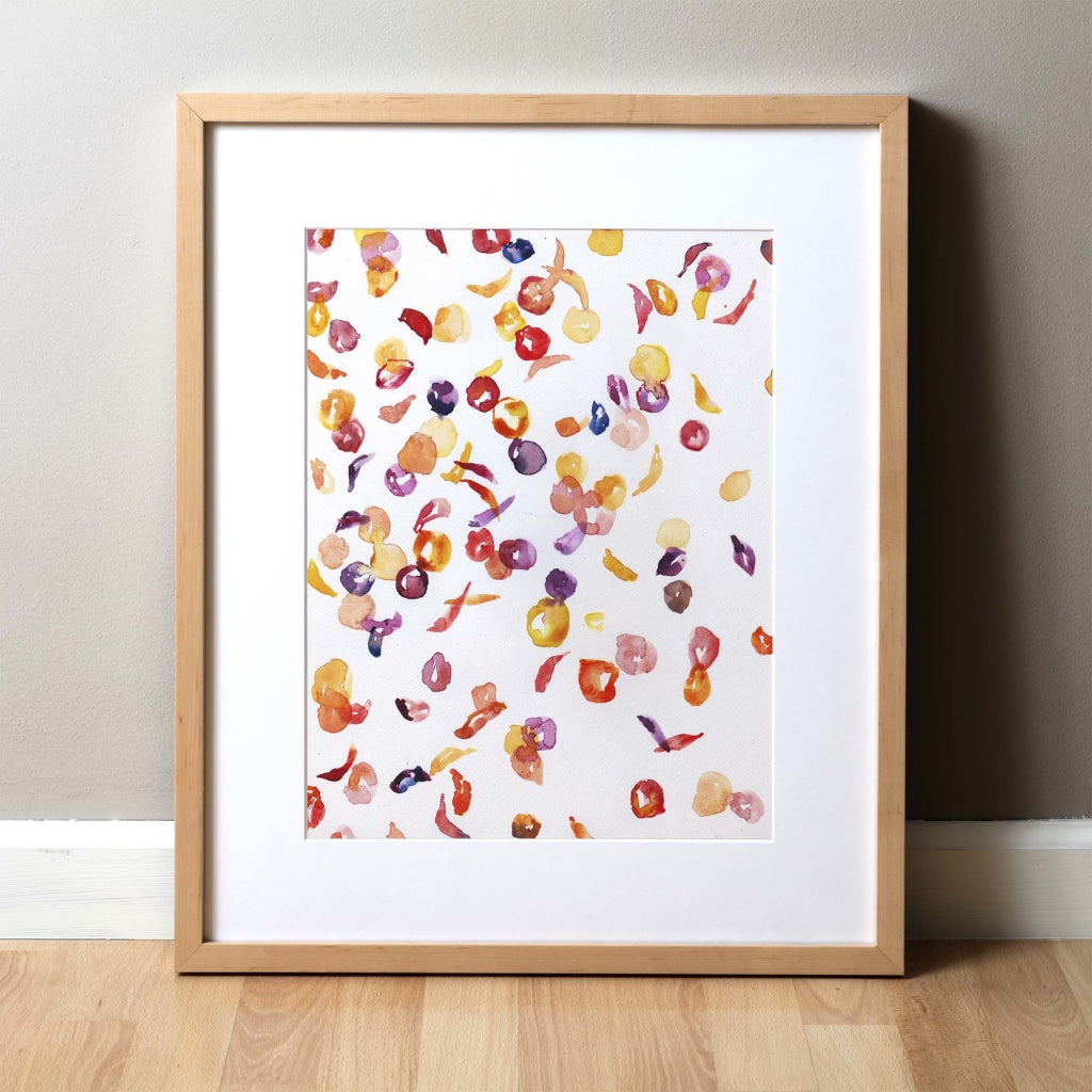 Sickle Cell Watercolor Print