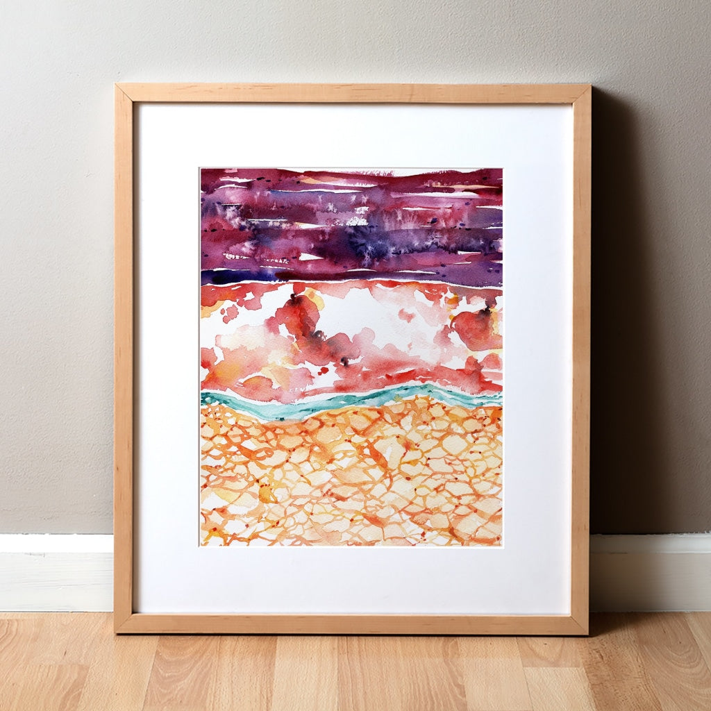 Meninges Watercolor Print
