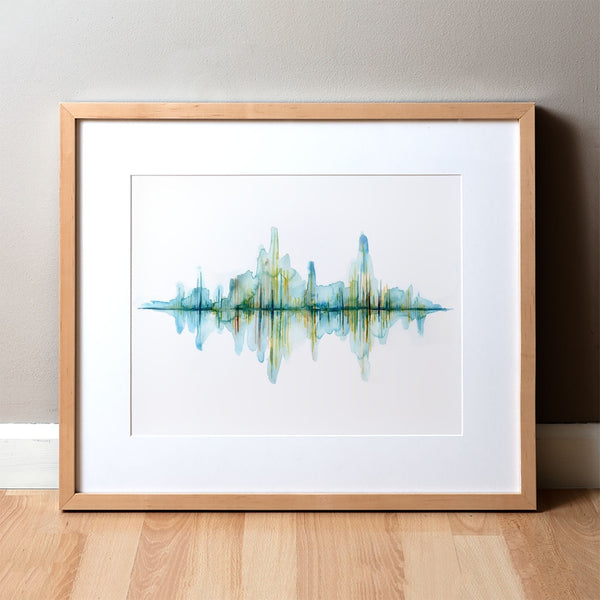 Sound Waves Print