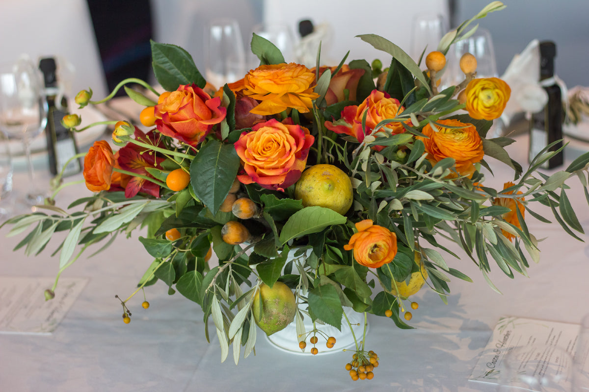 beautiful flower centerpiece