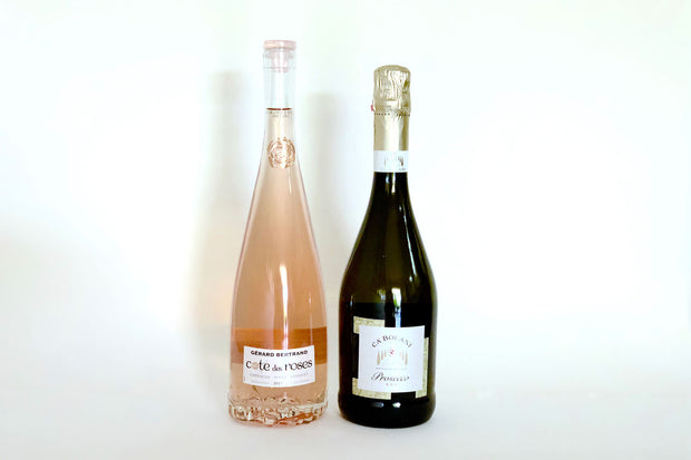 Valentine's Day Italian Bubbles and French Rosé