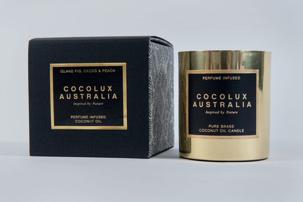 Cocolux Brass Candles