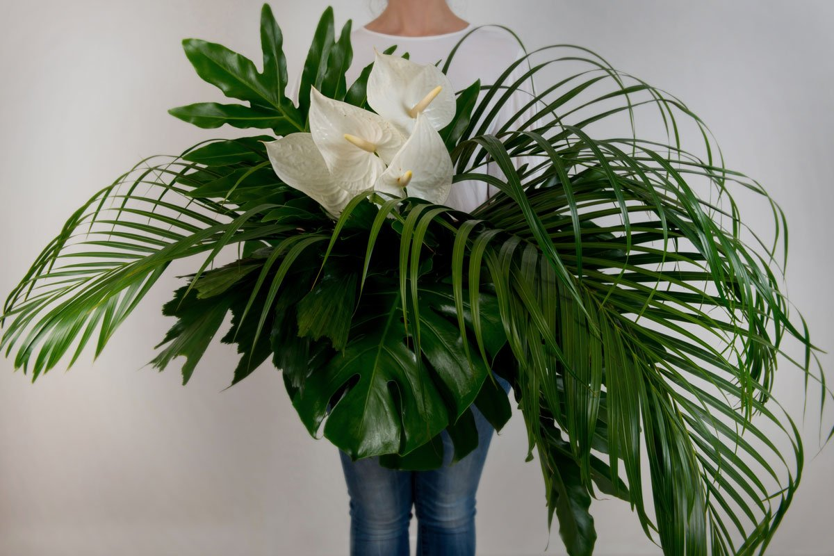 Tropicale Blooms Flower Arrangement