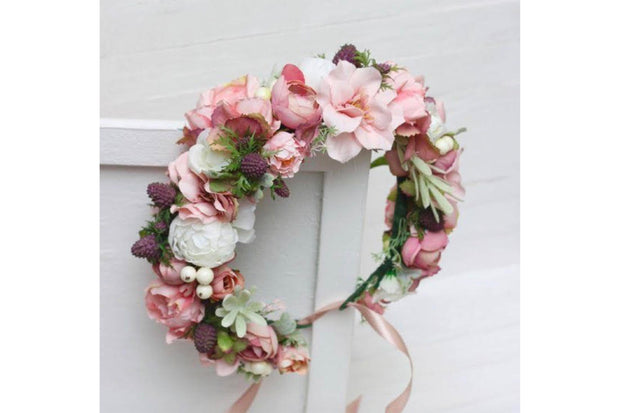 Flower Crowns - Bubbles and Blooms