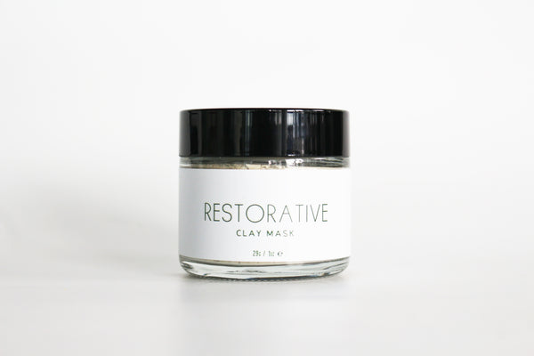 Restorative Clay Mask - The Great Canadian Hemp Company