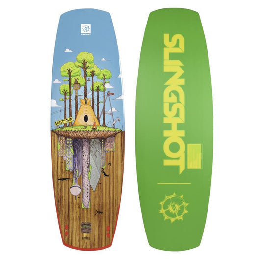 2018 SLINGSHOT SHREDTOWN WAKEBOARD