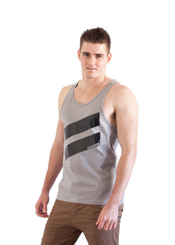 Pavati Slash Tank Grey
