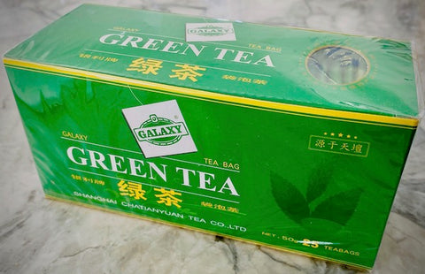 Galaxy Green tea bags 25 bags