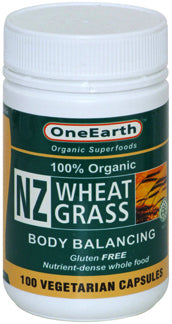 NZ Wheat Grass Capsules 100