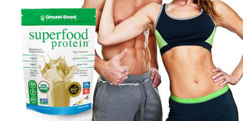 super food plant based protein powder supplement