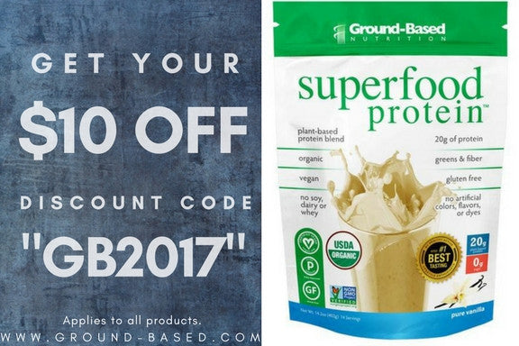 Ground Based Nutrition $10 Discount Code