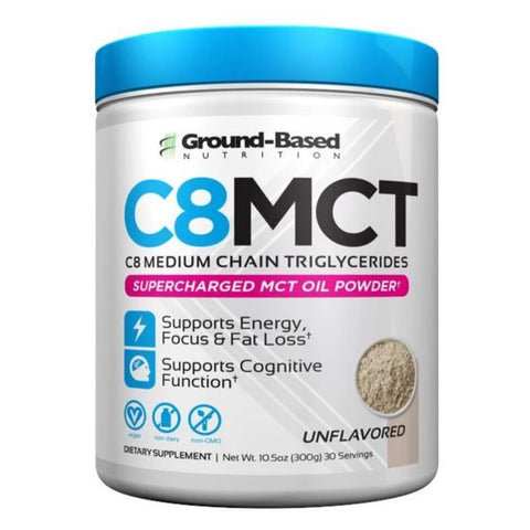 *NEW* C8 MCT Oil Powder